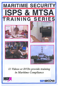 Homeland Security  Training on Dvd Isps   Mtsa Maritime Security Training Series   Homeland Security